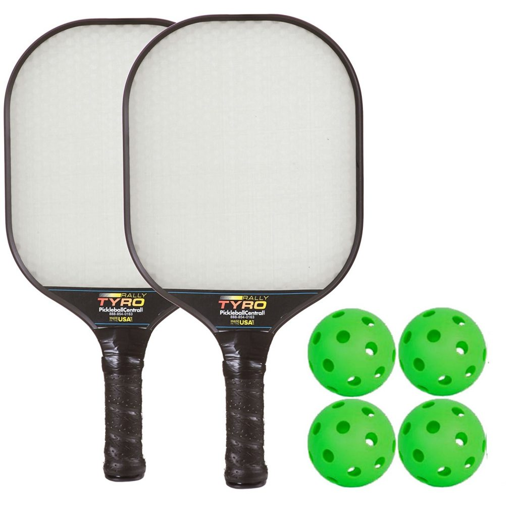 Rally Tyro Advanced Composite Pickleball Paddle Bundle