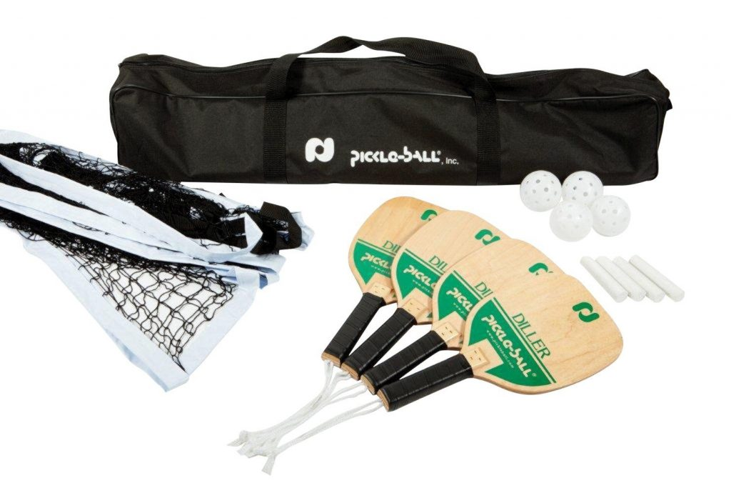 Deluxe Pickle-Ball Tournament Set