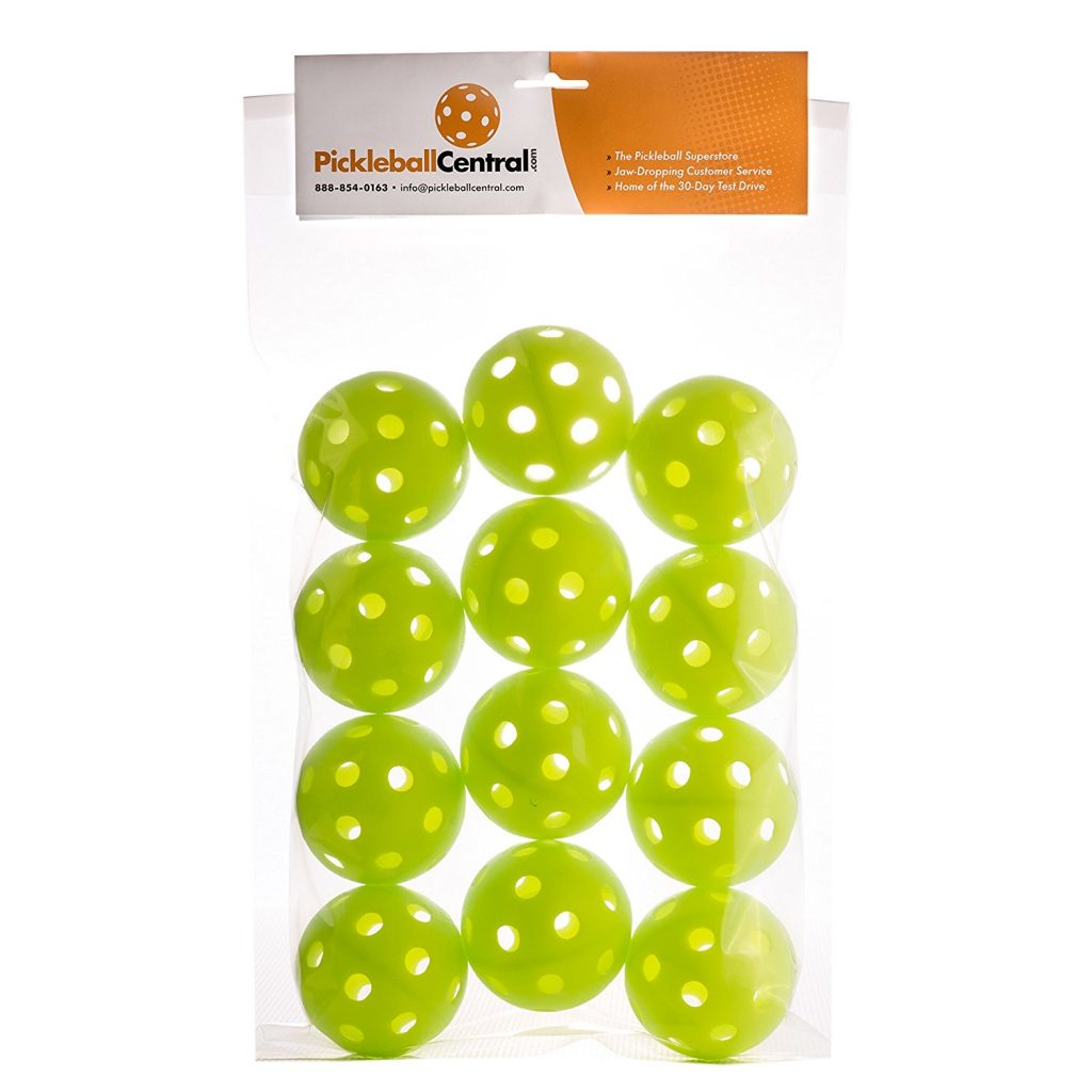Jugs Lime Green Pickleballs