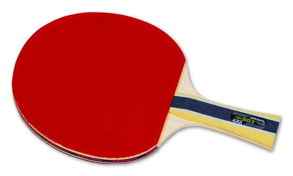 Butterfly 603 Shakehand Table Tennis Racquet