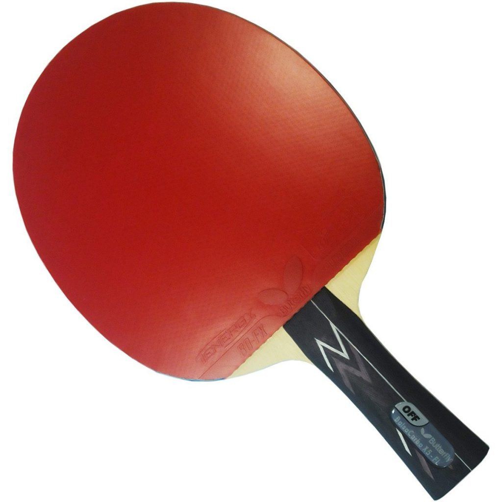 Butterfly Balsa Carbo X5-FL Ping Pong Paddle