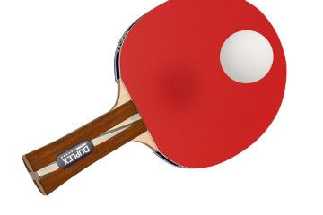 Duplex 6 Star Ping Pong Paddle