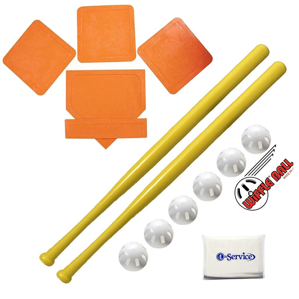 Wiffle Ball Bat Ultimate 4 Item Combo