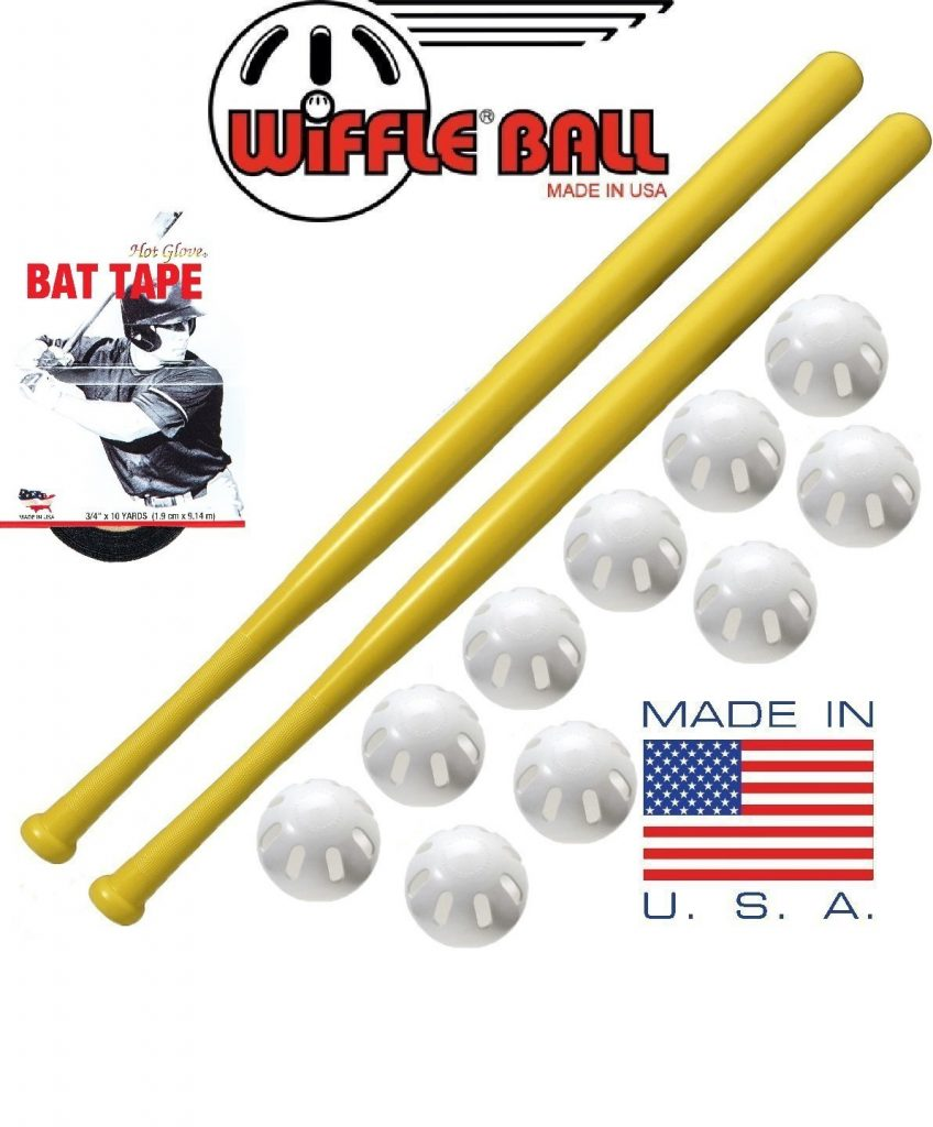 Wiffle Ball and Bat Combo Set