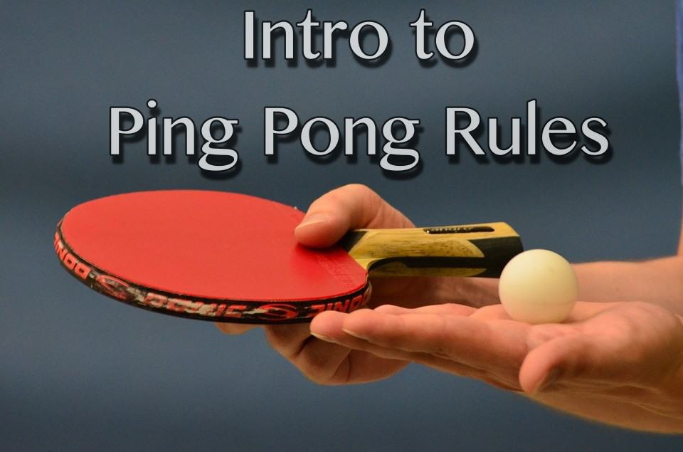 Ping Pong Rules