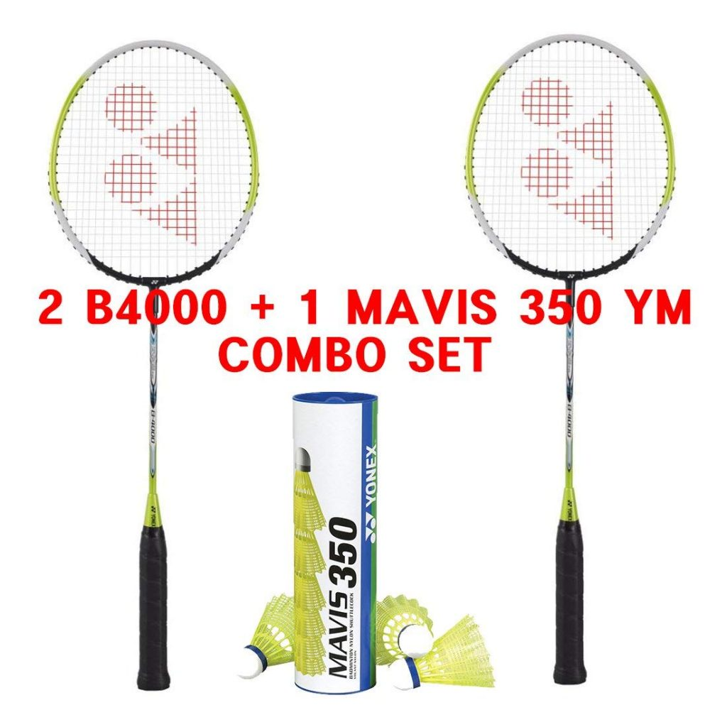 Yonex Basic 4000 Mavis 350 Badminton Racket for Beginners