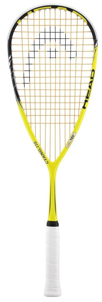 Head CYANO 2 115 Top Squash Racquet