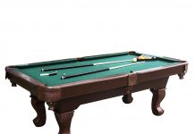Barrington Springdale Claw Leg Pool Table