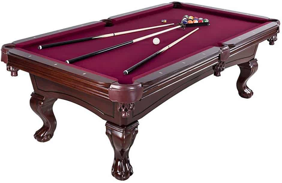 Hathaway Augusta 8 ft. Non Slate Pool Table