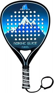 Nordic Slice Polar Bear Padel Racket