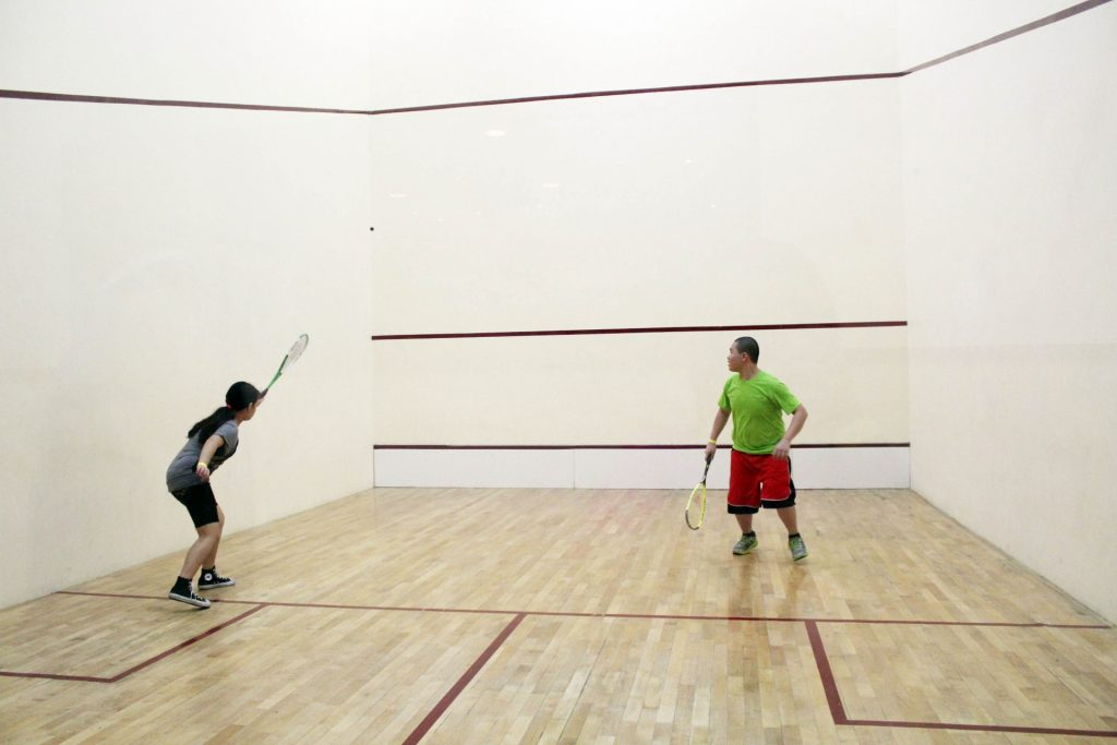 Playing Squash by Rules