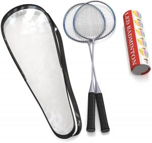 Trained Premium Quality Doubles Badminton Rackets