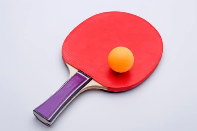 table tennis racket for beginners Pimples-in Rubber